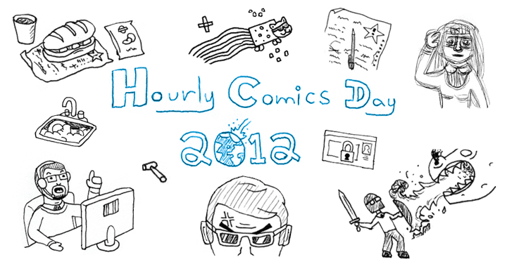 Hourly Comics Day 2012 Banner
