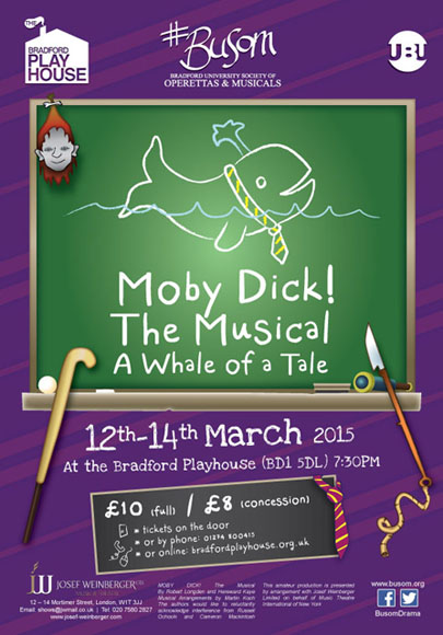 Moby Dick poster - Click to enlarge