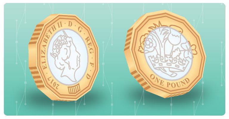 2017 New Pound Coin vector - final